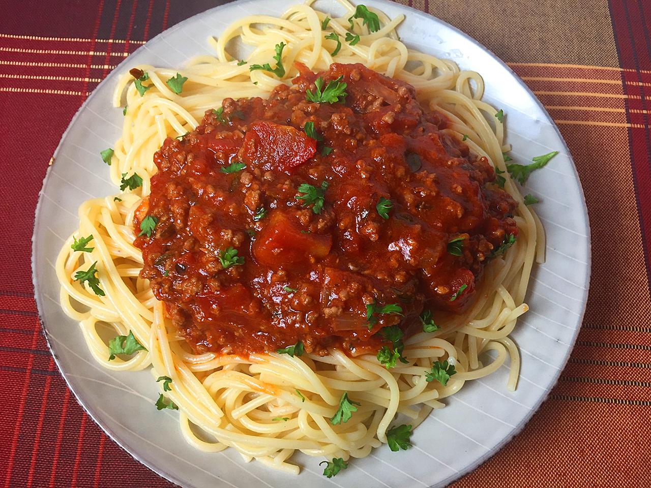 easy low sodium spaghetti sauce