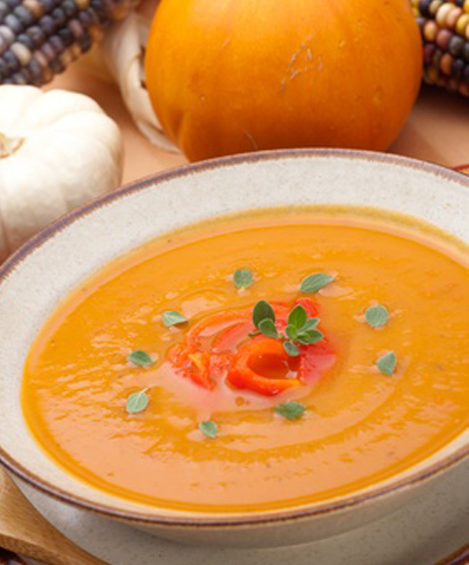 Easy Low Sodium Pumpkin Soup